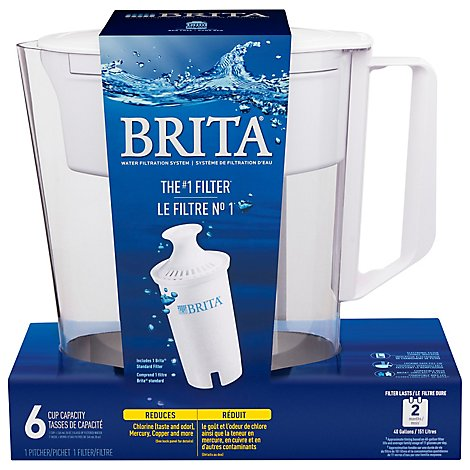 Brita Soho Pitcher White - Each