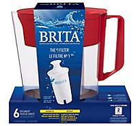 Brita Soho Pitcher Red - Each