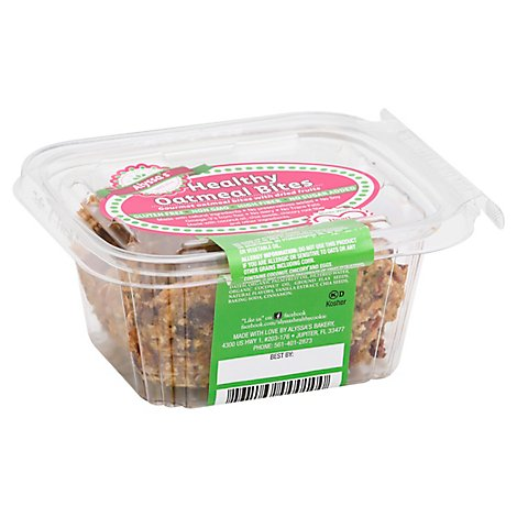Alyssas Healthy Bites Oatmeal - 6 Oz