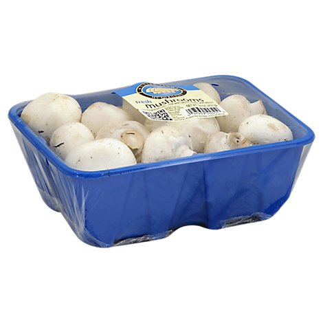 Mushrooms White Whole - 16 Oz