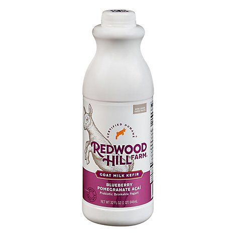 Redwood Hill Farm Kefir Goat Milk Blbry Pmgrnt - 32 Oz