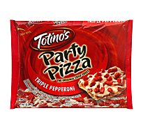 Totinos Party Pizza Pepperoni Triple Frozen - 10.2 Oz