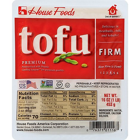 House Premium Tofu Firm - 16 Oz