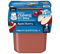 Gerber 2nd Foods Apples & Cherries - 2-4 Oz