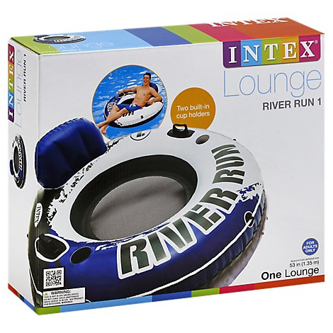 Intex Lounge River Run 1 - Each