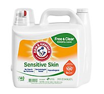 ARM & HAMMER Liquid Detergent Plush Fresh For Sensitive Skin Jug - 210 Fl. Oz.
