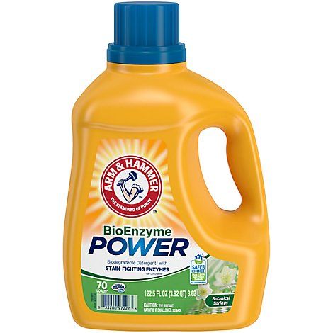 ARM & HAMMER Laundry Detergent Botanical Springs Jug - 122.5 Fl. Oz.