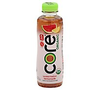core Organic Fruit Infused Beverage Watermelon Lemonade - 18 Fl. Oz.