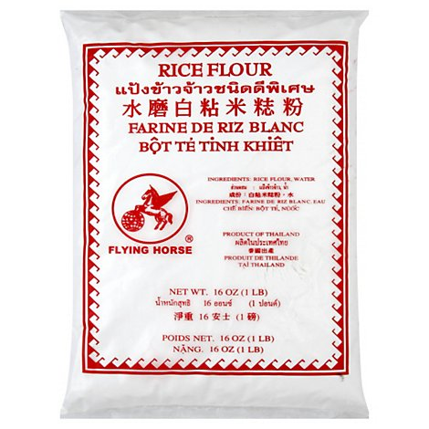 Flying Horse Rice Flour-Red - 16 Oz