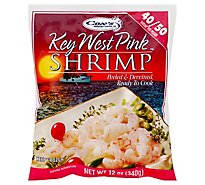 Coxs Shrimp Pink Wild Raw Peeled & Deveined Key West 40 To 50 - 12 Oz
