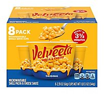 Velveeta Shells & Cheese Original Single Serve Cups - 8-2.39 Oz