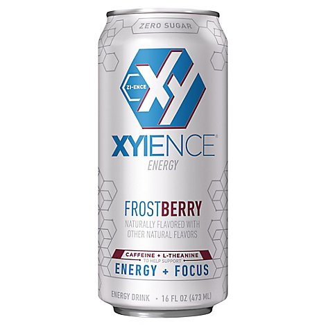 XYIENCE Energy Drink Frostberry Blast Carbonated - 16 Fl. Oz.