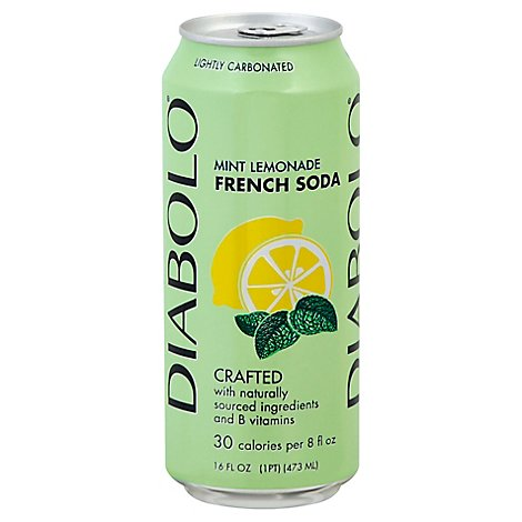 Diabolo Soda Mint Lemonade Natural - 16 Fl. Oz.