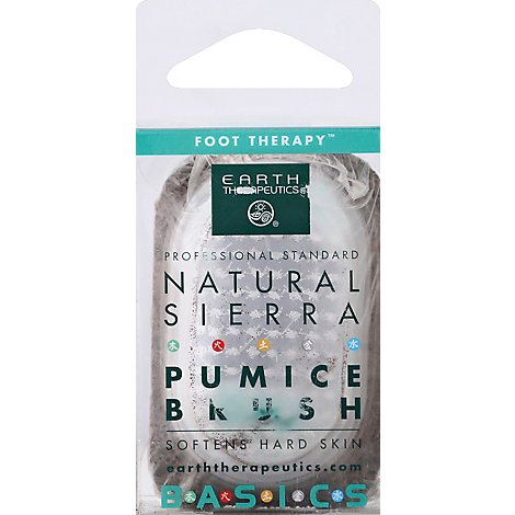 Earth Pumice Brush Sierra Ntrl - Each