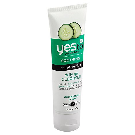 Yesto Cucumbers Daily Gel Cleanser - 3.38 Oz