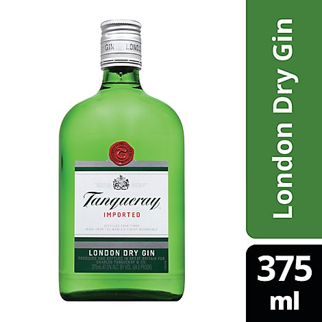 Tanqueray Gin London Dry Gin 94.6 Proof - 375 Ml