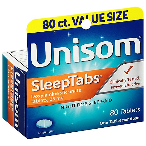 Unisom Sleeptabs - 80 Count