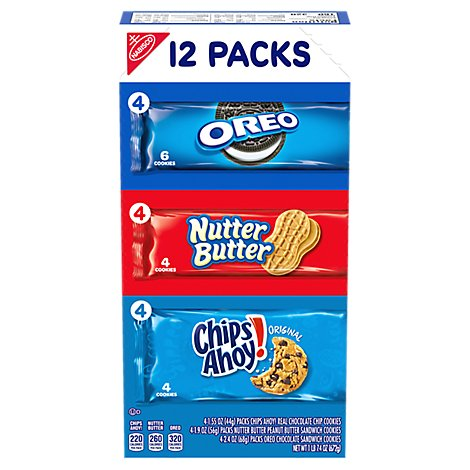 NABISCO Cookies Variety - 12 Count