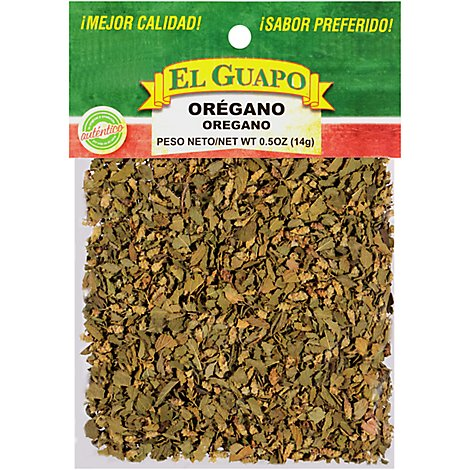 El Guapo Oregano Whole - 0.5 Oz