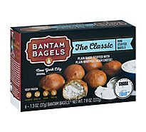 Bantam Bagels Bagels Mini Stuffed The Classic - 6-1.3 Oz