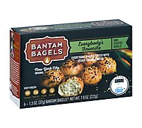 Bantam Bagels Stuffed Everybodys Favorite Mini - 6-1.3 Oz