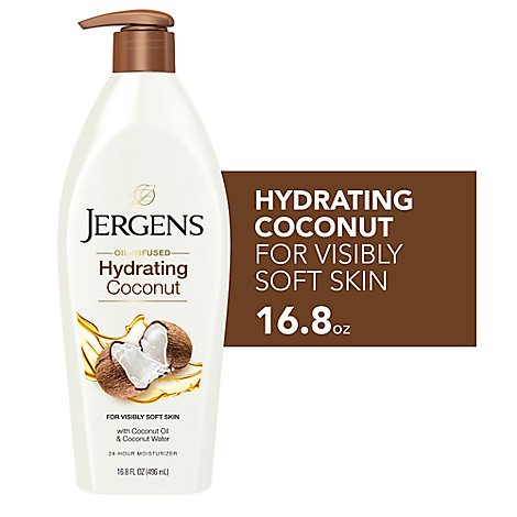 Jergens Hydrating Coconut Lotion - 16.8 Oz