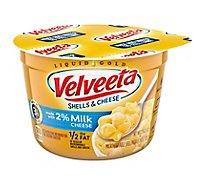 Kraft Velveeta Shells & Cheese 2% Milk Cheese Cup - 2.19 Oz
