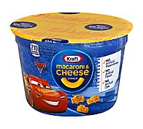 Kraft Macaroni & Cheese Dinner Cars 3 Cup - 1.9 Oz