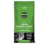 Worlds Best Cat Litter Clumping Formula Bag - 8 Lb