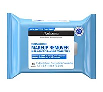Neutrogena Makeup Remover Cleansing Towelettes Fragrance-Free - 25 Count