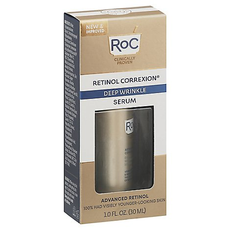 Roc Retinol Correxion Deep Wrinkle Serum - 1 Fl. Oz.
