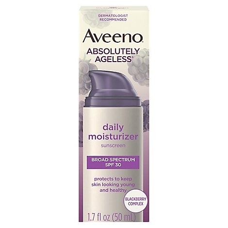 Aveeno Active Naturals Absolutely Ageless Daily Moisturizer SPF 30 - 1.7 Fl. Oz.