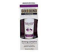 GOLD BOND Ultimate Cream Body Treatment Firming Neck & Chest - 2 Oz