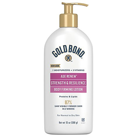 GOLD BOND Ultimate Lotion Strength & Resilience Proteins & Lipids - 13 Oz