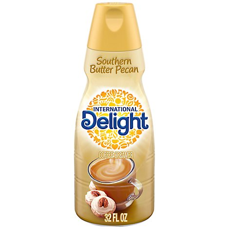 International Delight Coffee Creamer Southern Butter Pecan - 32 Fl. Oz.