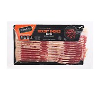 Signature Farms Bacon Sliced Hickory Smoked - 16 Oz
