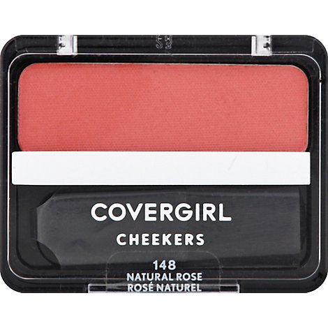 COVERGIRL Cheekers Blush Natural Rose 148 - 0.12 Oz