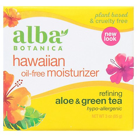 Alba Green Tea Oil Free Moisturizer - 3 Fl. Oz.
