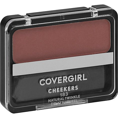 COVERGIRL Cheekers Blush Natural Twinkle 183 - 0.12 Oz