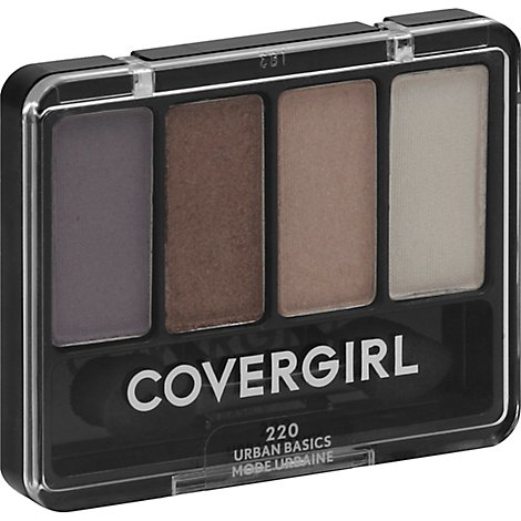 COVERGIRL Eye Enhancers 4-Kit Eye Shadow Urban Basics 220 - 0.19 Oz