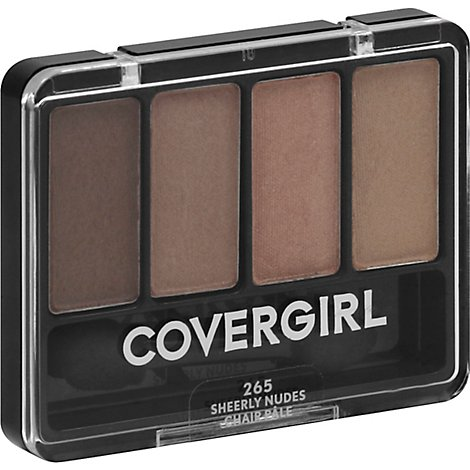 COVERGIRL Eye Enhancers 4-Kit Eye Shadow Sheerly Nudes 265 - 0.19 Oz