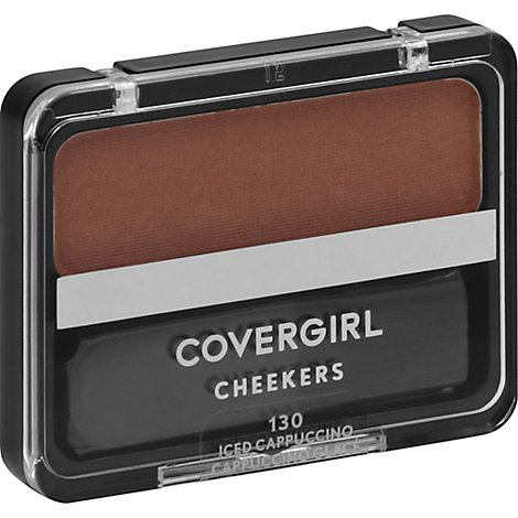 COVERGIRL Cheekers Blush Iced Cappuccino 130 - 0.12 Oz