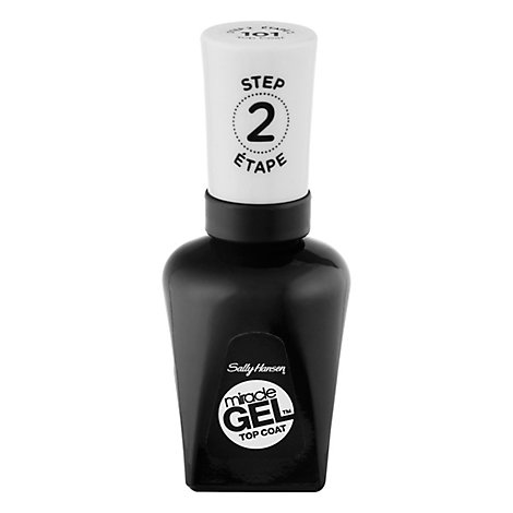 Sally Hansen Miracle Gel Nail Top Coat - .5 Oz