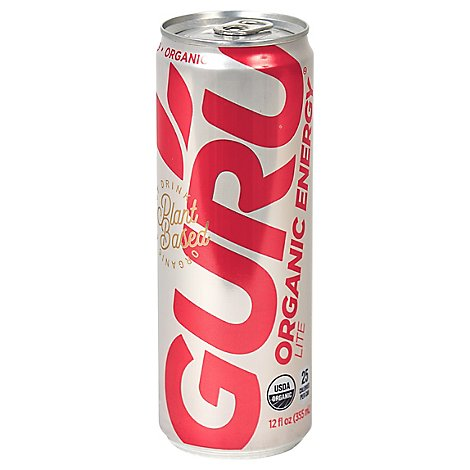 GURU Energy Drink Orgainc Lite Can - 12 Fl. Oz.