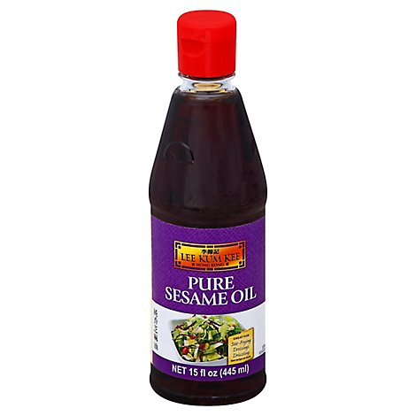 Lee Kum Ke Oil Sesame Pure - 15 Oz