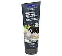 Freeman Facial Mask Charcoal Black Sugar - 6 Oz