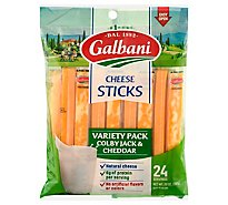 Galbani Cheese Snack Variety Pack - 20 Oz