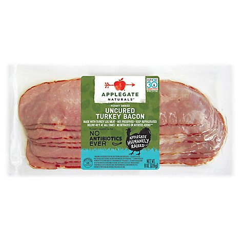 Applegate Natural Uncured Turkey Bacon - 8oz