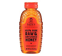 Nature Nates Honey Raw & Unfiltered - 16 Oz