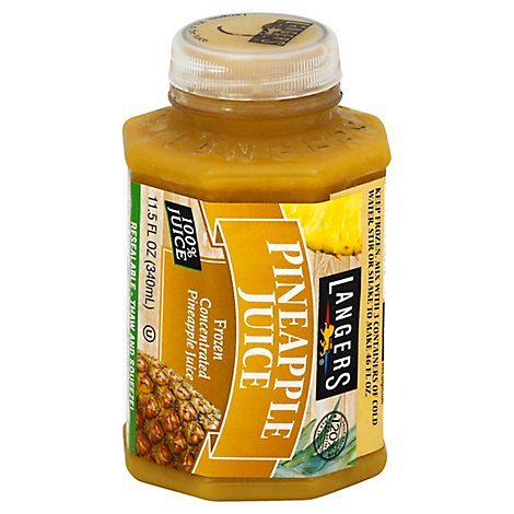 Langers Juice Frozen Concentrated Pineapple - 11.5 Fl. Oz.